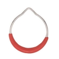 GYMNASTIC RING WITH RED PLASTIC COVER