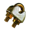 DIN 1142 GALV MALLEABLE WIRE ROPE CLIPS