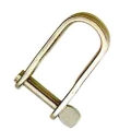 PLATE SHACKLE WITH LOCK PIN